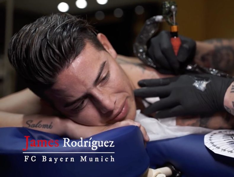 James Rodríguez Inkbro